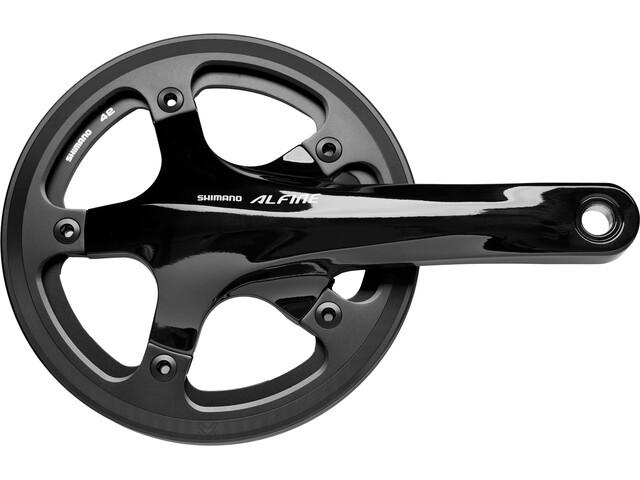 Shimano Alfine FC-S501 - Manivelle - 42 dents avec carter chaîne intérieur + extérieur noir
